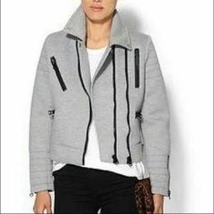 Jackets & Blazers - Glamorous grey moto jacket